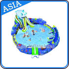 Outdoor Inflate Amusement Water Park , Inflatable Water Park , Inflatable Ground Water Park