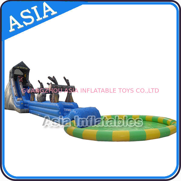 Removable Inflatables Water Park , Water Toys Space , Inflatable Playground